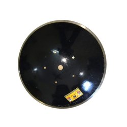Black High Carbon Plough Disc Blade, Hardness:38-42 Hrc, Thickness: 5mm