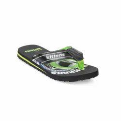 Kids Green Flip Flops
