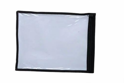 9a1e0151e79 PVC Plain And Printed Transparent Saree Cover Bag