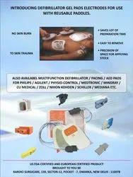 Defibrillator Pad For Schiller DG-400 Machine, Model Name/Number: EDC-1045