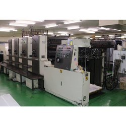 Mitsubishi  2f 4 Multi Color Fully Loaded Offset Printing Machine