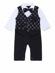 Pure Cotton Casual Wear AJ Dezines Kids Rompers Dress Set For Boys, Age: 0 To 2 Years