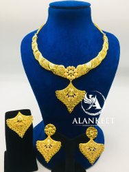 Gold Plated Short Necklace