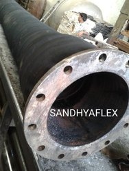 400mm ID x4Mtr Rubber Air Conveying Rubber Hose Suction Hose with Both End MS Flange