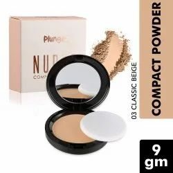 O3  Plunge Nudes Compact Powder Makeup Foundation for Even Tone, Blemish and Imperfection Cover with