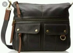 Buffalo Leather Sling Bag