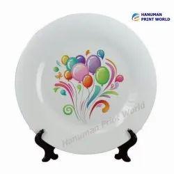 White Ceramic Plates Big