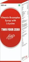 Vit B Complex Syrup with L Lysine