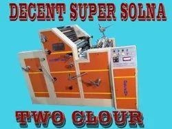 Non Woven Double Color Printing Machine