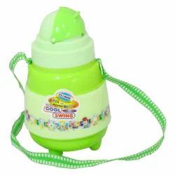 Green Plastic Insulated School Water Bottle (Cool Swing 600)