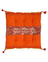 Soft Cotton Cloth Brocade Chair Pad Cushion Cover