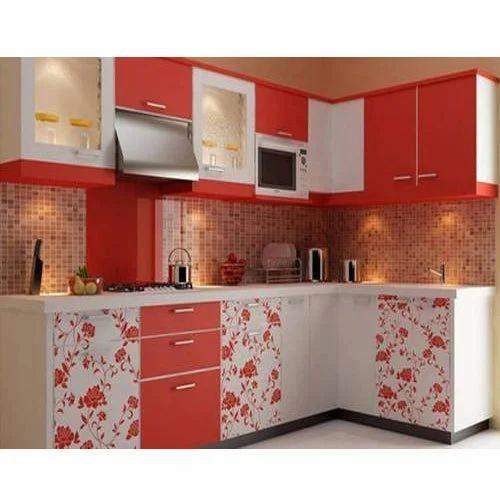 Modern L Shape Kitchen Cabinet Rs 225, Modern L Shape Kitchen Cabinet Design