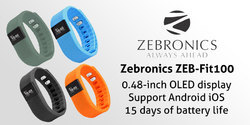 Zebronic Fit 100 Fit-Smart Fitness
