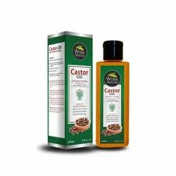 Wraa Natural Skin Care 100 ML Sulphate Free Castor Oil, For Cosmetic