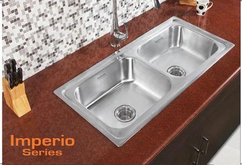 Hindware Kitchen Sink 41x20x8 Rs 12090 Piece Shree Plumbing Point Id 19497764512