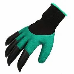 Gardening Gloves with Right Hand Fingertips