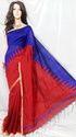 Cut Shut Cotton Silk Saree