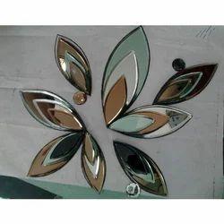 Glass Mural Flower