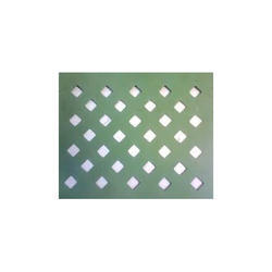 Diagonal Perforated Sheet