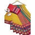 Party Wear Art Silk Saree, 80 Cm, 6.3 M (with Blouse Piece)