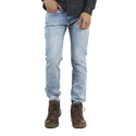 Stretchable Blue Regular Fit Denim Jeans