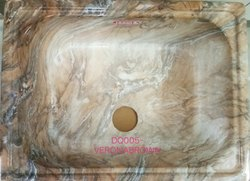Brown Designer Quartz Sinks-Dq005-Veronabrown