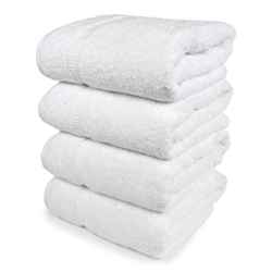 White Cotton Bath Towel
