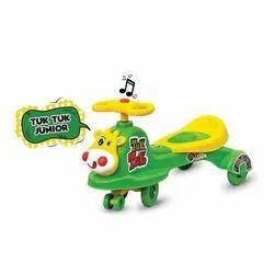 Single Plastic Tuk Tuk Baby Junior Swing Car, Child Age Group: 3 To 5 Years