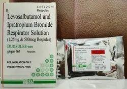 Levosalbutamol and Ipratropium Respules