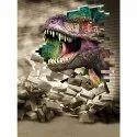 Mpro-tech Kids Room Dinosaur Pvc Vinyl Wall Sticker