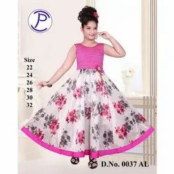 Inky Ponky Girls Floral Gown