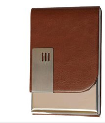 Leather Ten Color  Magnetic Credit Card Holder