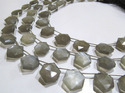 Natural Gray Moonstone Beads