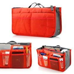 Orange Hand Bag Organizer