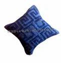 Geometric Wool Cushion