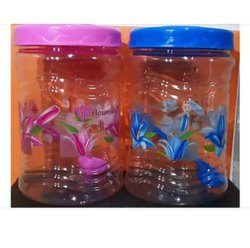Royal Pet Jar 1500ml Printed With Spoon