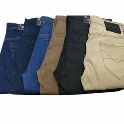 Plain Casual Wear Men Regular Fit Denim Jeans