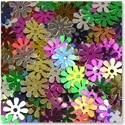 Metal Flower Sequins