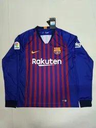 9575623e5e3 KD Full   Hall Sleeves 2018 19 FC Barcelona Home Jersey