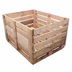 Rectangular, Square Wooden Packing Crates