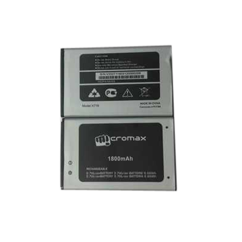 Micromax 1800 mAh Mobile Battery, Voltage: 3.7 V