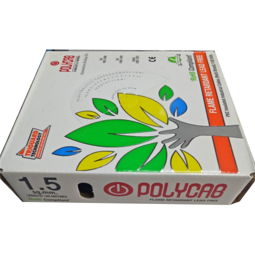 Polycab Wire Polycab 1 5mm Fr 300mt House Wire Wholesale Trader From Mumbai