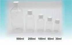 Pharma PET Transparent Bottles