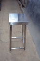 SS square stool