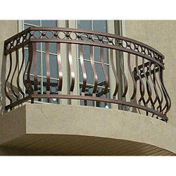 Designer Balcony Grill At Rs 275 Running Feet बलकन