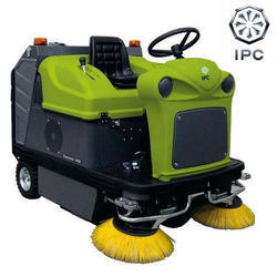 Ride On Sweeper, Model: 1450 E, Max Speed: 6 km/hr