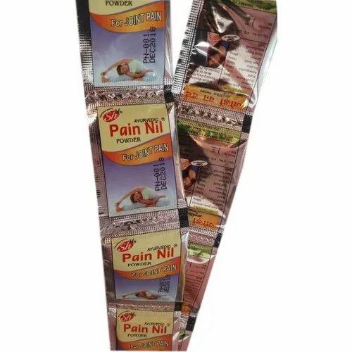 Swamy Herbals Ayurvedic Pain Nil Powder, Packaging Type: Roll