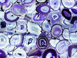 Purple Agate Gemstone Slab