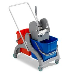 DOUBLE BUCKET TROLLEY 6056
