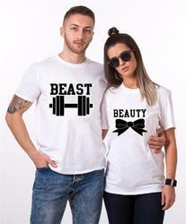 Round Neck Couple T Shirt